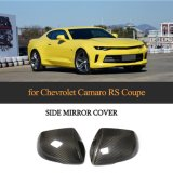 Carbon Fiber Side Mirror Covers for Chevrolet Camaro RS Coupe 2-Door 2016-2018