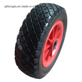 Black PU Foam Wheelbarrow Wheels