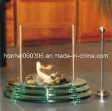 Clear Heat Resistant Borosilicate 3.3 Glass Fire Tube