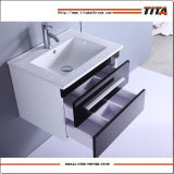 High Gloss Black&White MDF Bathroom Cabinet TM401