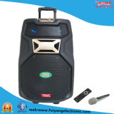 15 Inch Recharageable Professional DJ Speaker with Bluetooth Wireless Mic Radio F38