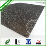 Polycarbonate UV Protection Anti-Aging PC Frosted Diamond Embossed Panel