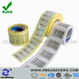 Custom Clear Self Adhesive High Temperature Resistant Variable Information Barcodes Labels