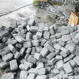 G654 Dark Grey Granite Tumbled Paving Stone for Garden