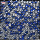 Round Mosaic Glass Tile