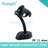 Handheld Laser Barcode Scanner with Autosense (SGT-2208)