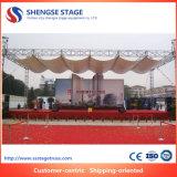 Good Price Aluminum Spigot Square Wedding Decoration Stage Equipment Truss