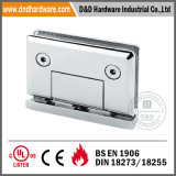 Stainless Steel Glass Holder for Internal Doors