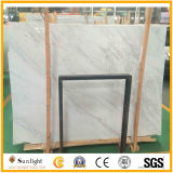Natural White Stone Polished New Volakas White Marble Slabs