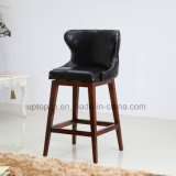 New Design Solid Wooden Frame Upholstery Bar Counter Chair (SP-HBC451)