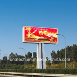 P10/P16 DIP Advertising Media Digital Rbg Screen Display Unipole Waterproof Outdoor LED Billboard