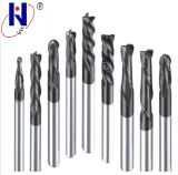 High Performance Solid Carbide End Mill for CNC Cutting Tool