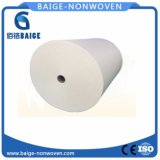 Pet Spunlace Nonwoven Fabric Jumbo Roll