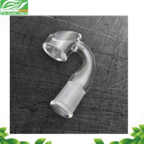 Factory Price 10mm 14mm 18mm Real Quartz Banger Nail with Card Cap