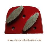 Double Segments Lavina Diamond Grinding Plate for Concrete Floor Grinder