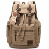 Wholesale Custom Bag Outdoor Vintage Canvas School Bag Backpack