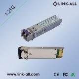 1.25GB/S (30dB) Fiber Optic Equipment CWDM SFP Optical Transceiver Module