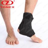 Black Sports Basketball Elastic Ankle Support Adjustable