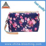Custom Wholesale Private Label Beauty Travel Canvas Cosmetic Makeup Bag