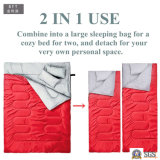 2 in 1 Double Camping Sleeping Bag