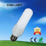 Sigma New Design Sraight 3u 4u AC 110V 127V 220V SMD B22 E27 High Lm 10W 12W Lamps Bulbs Eco LED Light with Alum PC Cover