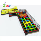 Factory Wholesale Trampoline with Foam Pit, Basketball