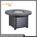 Garden Wicker Furniture Leisure Rattan Fire Pit Table Outdoor Cookware