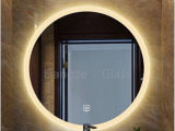Customized UL Appoved Round LED Light Bathroom Mirror in Bath Accessories