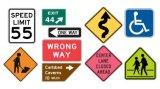 Plastic Wholesale Price Reflective Aluminum Traffic Control Safety Warning Traffic Road Sign