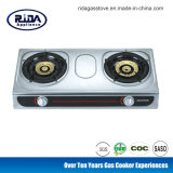 Stainless Steel Double Burner Gas Stove