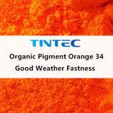 Pigment Orange 34 for Plastic Coating Ink (Benzimidazolone)
