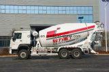 Self Loading Mobile Concrete Mixer Truck for Concrete Mixing Plant