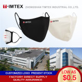 Timtex China Factory Wholesale Soft Breathable Anty-Dust Black Cotton Mouth Mask Cover for Men and Women