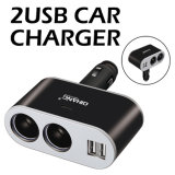 D07 5V3.1A Multifunctional Double USB Fast Charging Car Charger