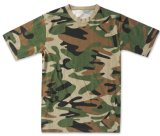 Competitive Price About Wholesale Military Camouflage Army T Shirt