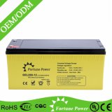 12V200ah Deep Cycle Gel Battery for Solar Power System