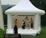 White Inflatable Wedding Castle