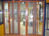 Powder-Coated Colorful TM115 Series Sliding Door with Fly Screen