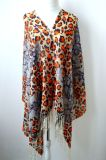 100% Digital Printed Merino Wool Scarf