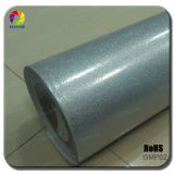 High Quality 1.52*20m Silver Glossy Metalic Pearl Car Vinyl