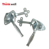 Trailer Parts Tailboard Locks Angle Lever Lock with Spring Retention
