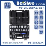 32PC Socket Chrome Vanadium Tool Set Socket Wrench Set