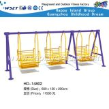 CE Certified Outdoor and Indoor Swing Set on Promotion (HD-14802)