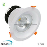 5W 10W 20W 30W 40W 50W Recessed LED Downlight Bridgelux LED Chip COB LED Ceiling Spot Lights