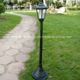 Garden Solar Hexagon Courtyard Lamp with The Base