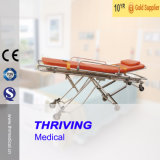 Hospital Automatic Loading Folding Stretcher