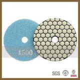"""4"""" Diamond Resin Bond Floor Polishing Pads for Concrete Grinding"""
