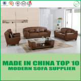 Furniture New Product Upholstery Corner Leater Sofa with Wooden Frame