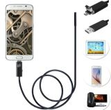 Android Micro USB Cable Snake Tube Video Mobile Phone Endoscope Camera