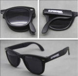Promotion Plastic Folding Sunglasses with OEM Brand